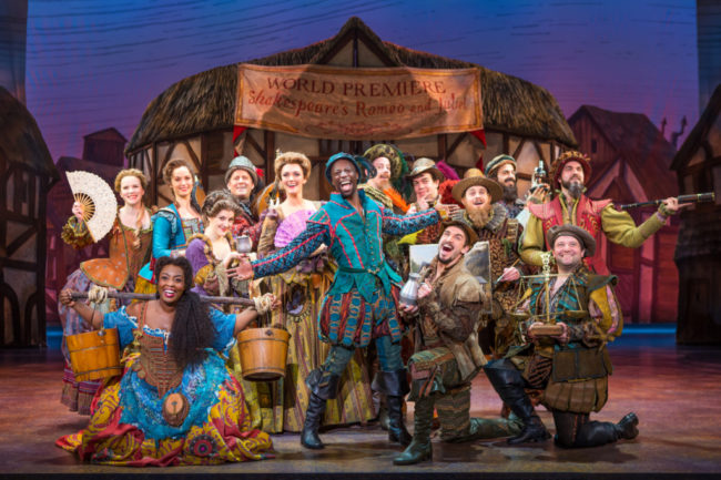 Cast of the Something Rotten! National Tour.