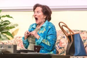 Frieda Enoch as Clairee in Steel Magnolias