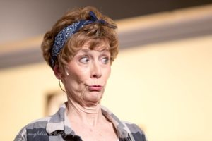 Liz Weber as Ouiser in Steel Magnolias