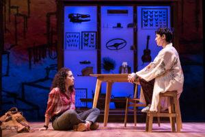 Alina Collins Maldonado (left) as Dessa and Alyssa Wilmoth Keegan (right) as Esther