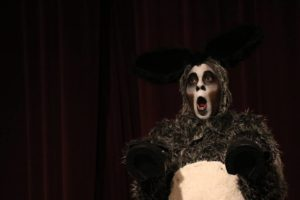 J Purnell Hargrove as Donkey in Shrek at CCP