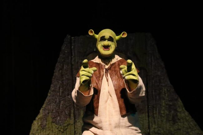 Dean Davis as Shrek