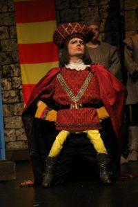 Jeff Baker as Lord Faarquad in Shrek at Charm City Players