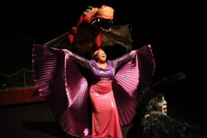 Alana Simone as Dragon in Shrek at CCP