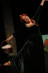 Melissa Ann Martin as Princess Fiona in Shrek