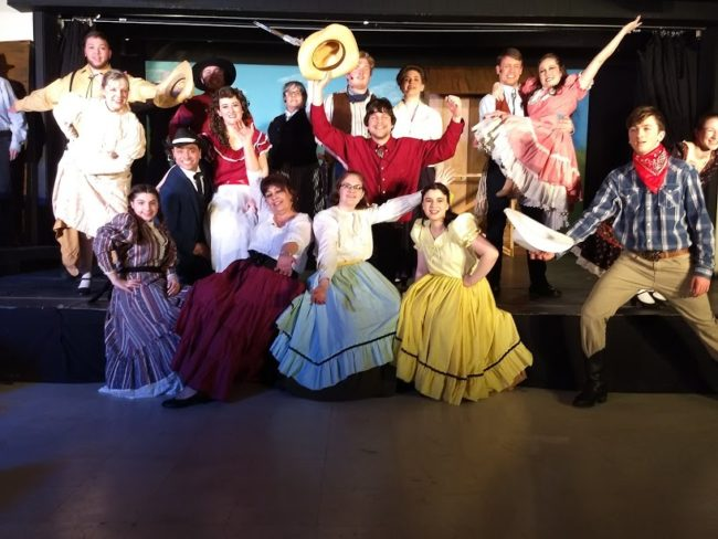The cast of Oklahoma! at Artistic Synergy of Baltimore