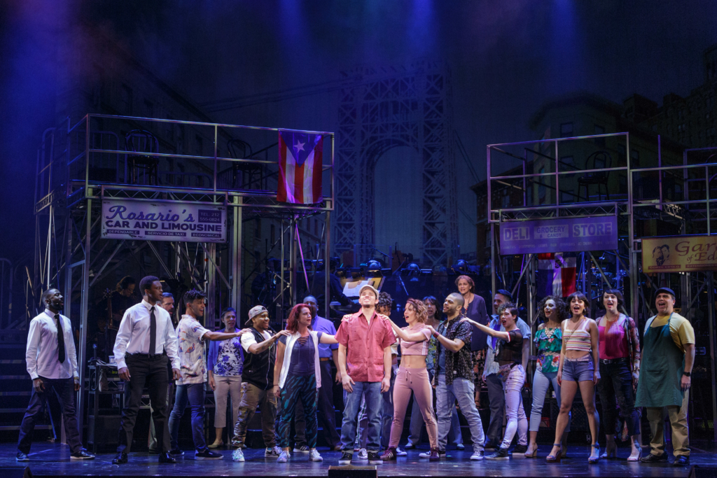 The cast of In The Heights