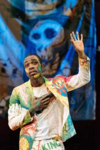 Paapa Essiedu as Hamlet in RSC's Hamlet