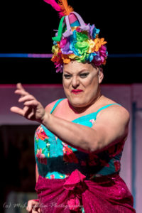 Larry Munsey as Bernadette in Priscilla Queen of the Desert
