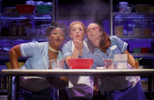 Charity Angel Dawson (left) as Becky, Desi Oakley (center) as Jenna, and Lenne Klingaman (right) as Dawn