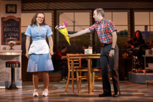 Lenne Klingaman (left) as Dawn and Jeremy Morse (right) as Ogie