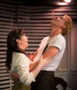 Karli Cole (left) as Catherine and Jeremy Myers (right) as Rodolpho