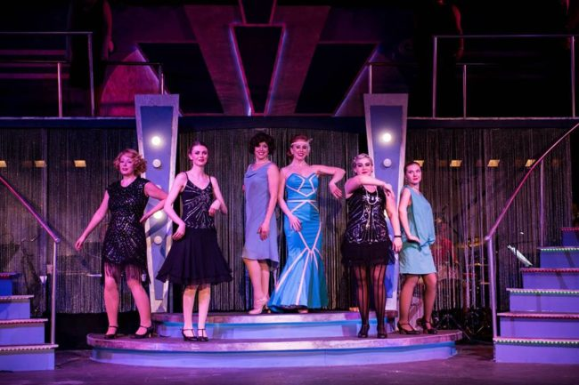 Bullets Over Broadway now appearing at Annapolis Summer Garden Theatre