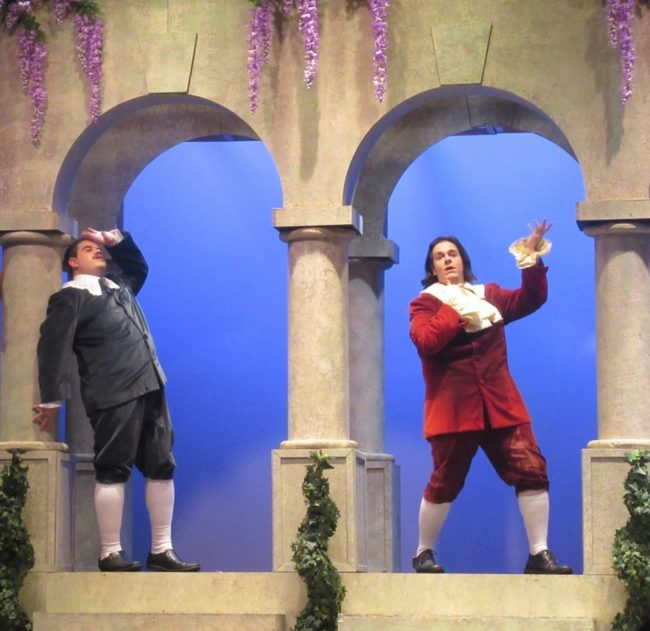 Gilbert & Sullivan's Patience now playing with the Victorian Lyric Opera Company at F. Scott Fitzgerald Theatre