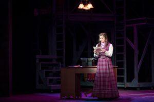 Katie Davis as Katherine Plumber in Newsies