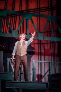 Josh Strobl as Jack Kelly in Newsies