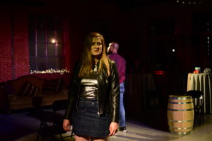 Kylie Smith as Narrator in Murder Ballad