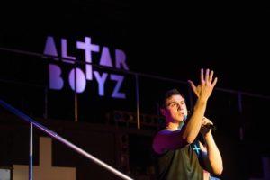 Jamie Jacobs as Matthew in Altar Boyz