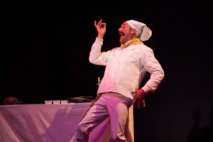 Brian Jacobs as Chef Louis in The Little Mermaid