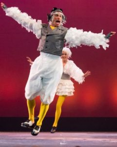 Gary Dieter as Scuttle in The Little Mermaid
