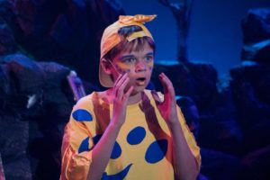 Adrien Amrhein as Flounder in The Little Mermaid