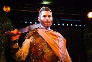 Jared H. Graham as Macbeth.