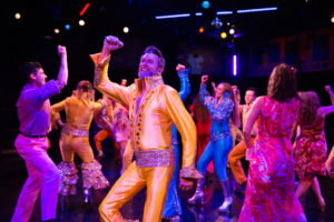 Darren McDonnell as Harry Bright in Mamma Mia!q