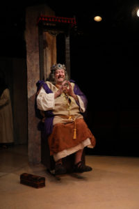 Wayne Ivusich as King in Judy and the General