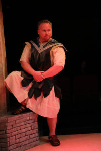 Rob Wall as Holofernes in Judy and The General