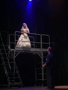 Ilyssa Rubin (above) as Joanna and Eitan Murinson (below) as Antony in Sweeney Todd