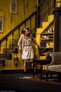 Julie Herber as Dotty in Noises Off