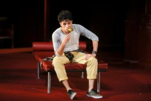 Sebastian Chacon as Benvolio in Romeo & Juliet