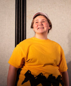 Brittany Runk as Charlie Brown in You're a Good Man, Charlie Brown at ASoB