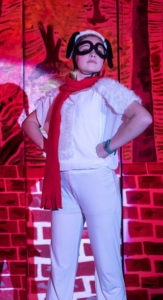 Chloe Davis as Snoopy in You're a Good Man, Charlie Brown at ASoB