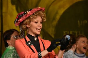Dawn O'Croinin as Dolly Levi in Hello, Dolly!