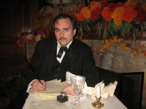 John Kelso as Edgar Allen Poe