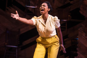 Adrianna Hicks as Celie in the National Tour of The Color Purple