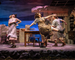 The cast of Dancing at Lughnasa at Everyman Theatre