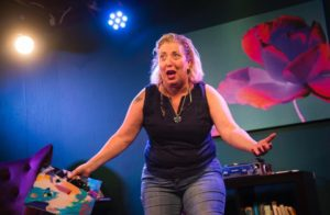 Living and Dying with Tricia McCauley, written, directed, and performed by Deborah Randall at Venus Theatre