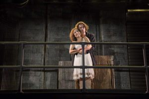 Suzanne Lane (left) as Johanna and Noah Israel (left) as Anthony in Sweeney Todd