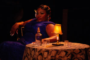 Kadejah Oné in Ain't Misbehavin' at Toby's Dinner Theatre