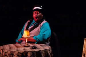 Tobias A. Young in Ain't Misbehavin' at Toby's Dinner Theatre
