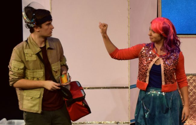 James Morogiello (left) as Klipp Casey and Kelsey Yudice (right) as Ineka Brendley