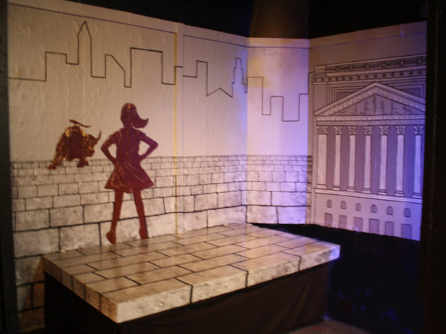Set Designer Alan Zemla sets the tone for Lysistrata