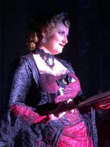 Roni Mosco as The Narrator in The Rocky Horror Show