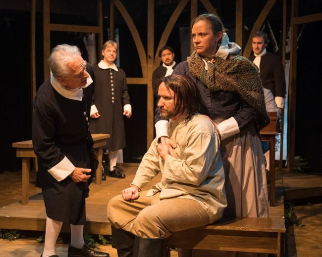 Arthur Miller's The Crucible at Silver Spring STage
