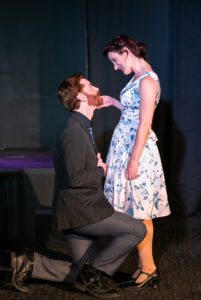Jared H. Graham as Antonio and Katie Culligan as the Duchess