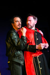 Ian Blackwell Rogers as Ferdinand and Steve Lebens as the Cardinal