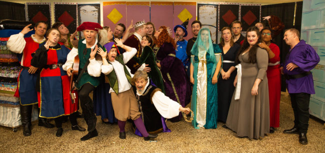 The Company of Once Upon a Mattress at Artistic Synergy of Baltimore