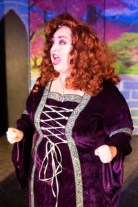 Stacy Bonds as Queen Aggravain in Once Upon a Mattress